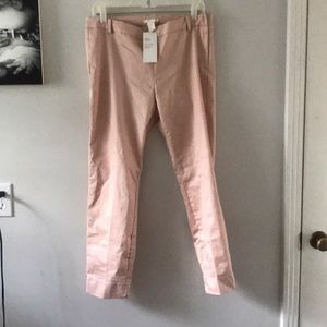 Beautiful blush colored H&M pants NWT